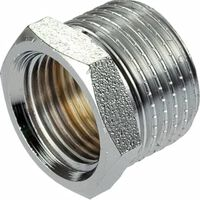 1/2x3/8 Inch Thread Reducer Male x Female Pipe Reduction