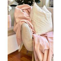 Codu Kensington Throw - Blush -  Cashmere/super Fine Merino Wool