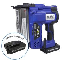 2 in 1 Nail & Staple Gun Cordless Stapler Nailer & Additional Battery