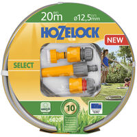 "Hozelock Watering Hose ""Select"" 20 m with Starter Set"