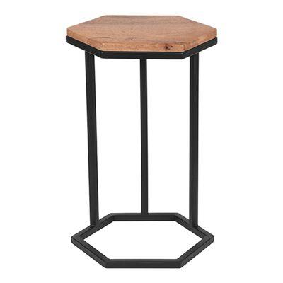 LABEL51 Laptop Table Slide 40x40x62 cm Wood/Black