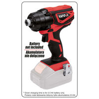 YATO Impact Driver without Battery 18V 160Nm