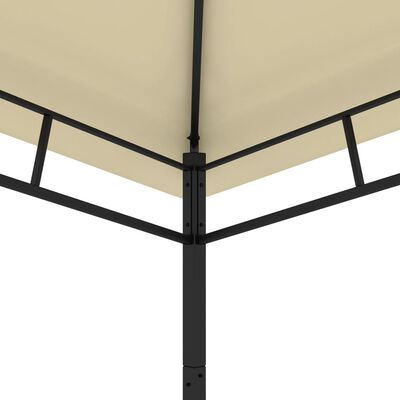 vidaXL Garden Gazebo 3x3x2.9 m Cream 180g/m²