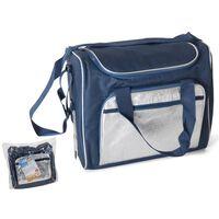 Coolbag/Coolbag 21 litres - Blue/Silver - 36x22x30cm