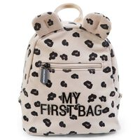 CHILDHOME Kids Backpack My First Bag Canvas Leopard