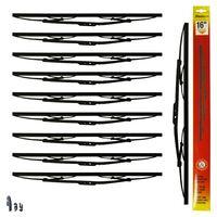STADIUM - 16 inch Car / Van Wiper Blades - BOX OF 10