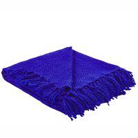 Blanket 140 x 164 cm Blue ARINIK