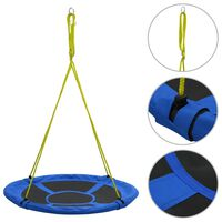 vidaXL Swing 110 cm 100 kg Blue
