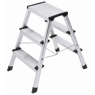 Hailo Folding Stepladder L90 Step-ke 2x3 Steps 60 cm 4443-701