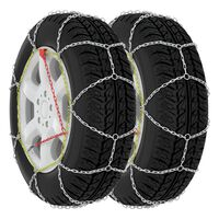 vidaXL Car Tyre Snow Chains 2 pcs 9 mm KN100