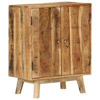 vidaXL Sideboard 60x35x74 cm Rough Mango Wood