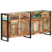 vidaXL Sideboard 172x35x80 cm Solid Reclaimed Wood