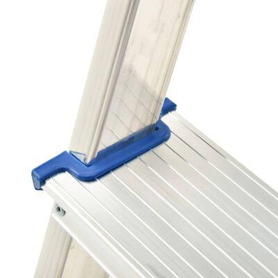 vidaXL Aluminium Step Ladder 5 Steps 150 kg