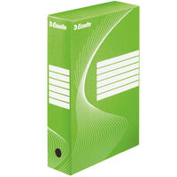 Esselte Archiving Box 25 pcs Green 80 mm