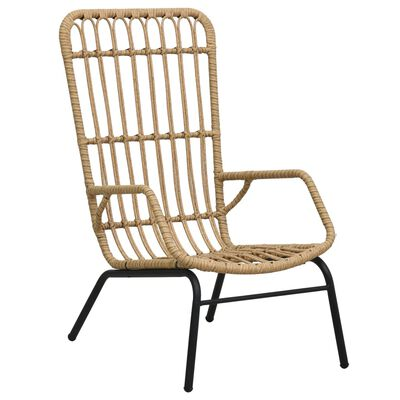 Our poly rattan chair is a perfect combination of style and functionality. It adds a touch of fun and comfort to your garden or patio!