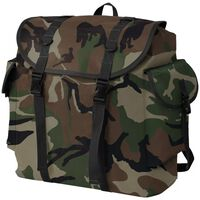 vidaXL Army-Style Backpack 40 L Camouflage