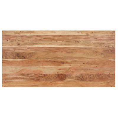vidaXL Dining Table 140x70x76 cm Solid Acacia Wood