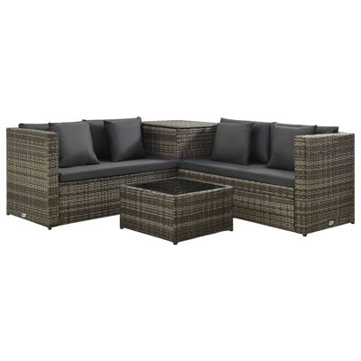This stylish yet highly comfortable garden sofa set will be an eye-catcher in your garden or on the patio.