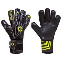 Elite Sport Goalkeeper Gloves Vibora Size 5 Black