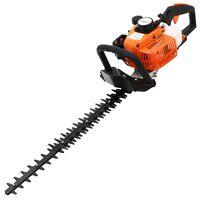 vidaXL Petrol Hedge Trimmer 722 mm Orange and Black
