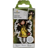 Gorjuss Collectable Mini Rubber Stamp No. 43 Spring At Last