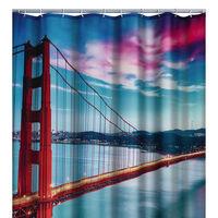 RIDDER Shower Curtain San Francisco 180x200 cm