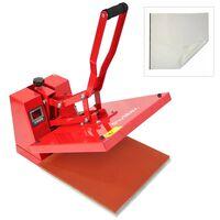 PixMax 38 x 38cm Sublimation Heat Press & Teflon Sheet
