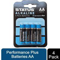 Status Alkaline Performance Plus Batteries Aa