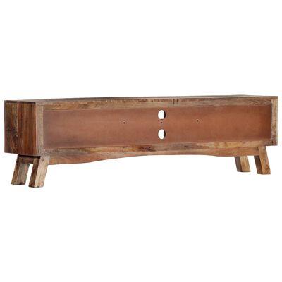 vidaXL TV Cabinet 140x30x40 cm Solid Mango Wood