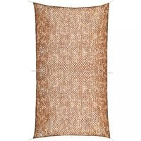 vidaXL Camouflage Netting with Storage Bag 4x8 m
