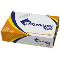 Wrapmaster 3000 Baking Parchment Paper Refills - 3x50mtr