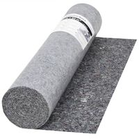vidaXL Non-slip Painter Fleece 50 m 280 g/m² Grey