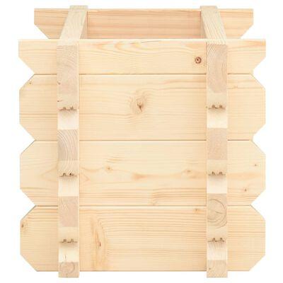 vidaXL Raised Bed 42 mm 100x50x47.3 cm Solid Spruce Wood