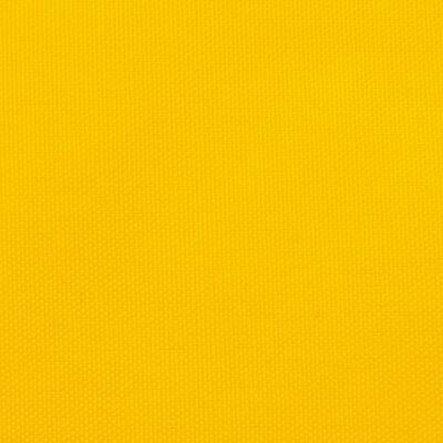 vidaXL Sunshade Sail Oxford Fabric Triangular 4.5x4.5x4.5 m Yellow