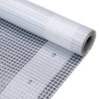 vidaXL Leno Tarpaulin 260 g/m² 2x20 m White