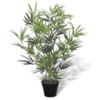vidaXL Artificial Bamboo Tree with Pot 80 cm