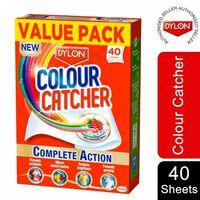 Dylon Colour Catcher Complete Action Laundry Sheets, 40 Sheets