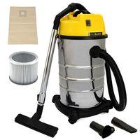 MAXBLAST Industrial Wet Dry Vacuum Cleaner & Attachments 30L