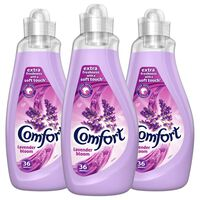 3x36 Washes Comfort Lavender Fabric Conditioner 1.26 Litre, 108 Washes