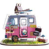 Robotime DIY Miniature Car Kit Happy Camper