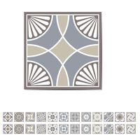 WALPLUS Stair Sticker Spanish Limestone 15x15cm 24 Sheets