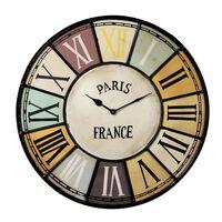 Clock CHALET Industrial style Metal 48xx48cm (HxDxW)
