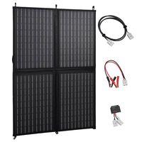 vidaXL Foldable Solar Panel Charger 100 W 12 V