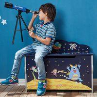 Fantasy Fields Children Outer Space Wooden Toy Box Chest Kids Storage