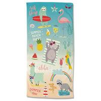 Good Morning Beach Towel HOLIDAYS 75x150 cm Multicolour