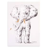 CHILDHOME Oil Painting 30x40cm Elephant