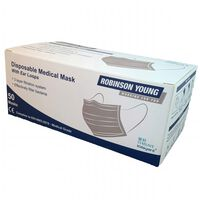 Robinson Young Disposable Medical Face Masks - 1x50