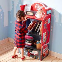 Fantasy Fields Lil Fire Fighters Children Kids Wooden Bookcase Storage