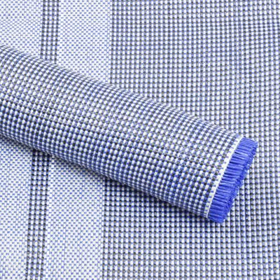vidaXL Tent Carpet 550x250 cm Blue
