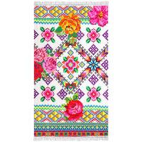 Happiness Beach Towel YUCATAN 100x180 cm Multicolour